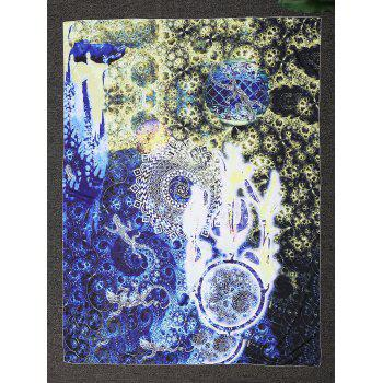 Square Oil Painting Beach Throw - COLORMIX COLORMIX
