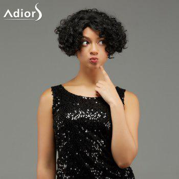 Adiors Fluffy Short Curly Hairstyle Synthetic Wig
