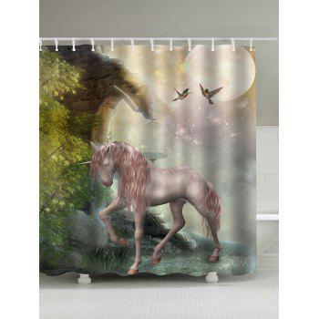 Pegasus Forest Shower Curtain