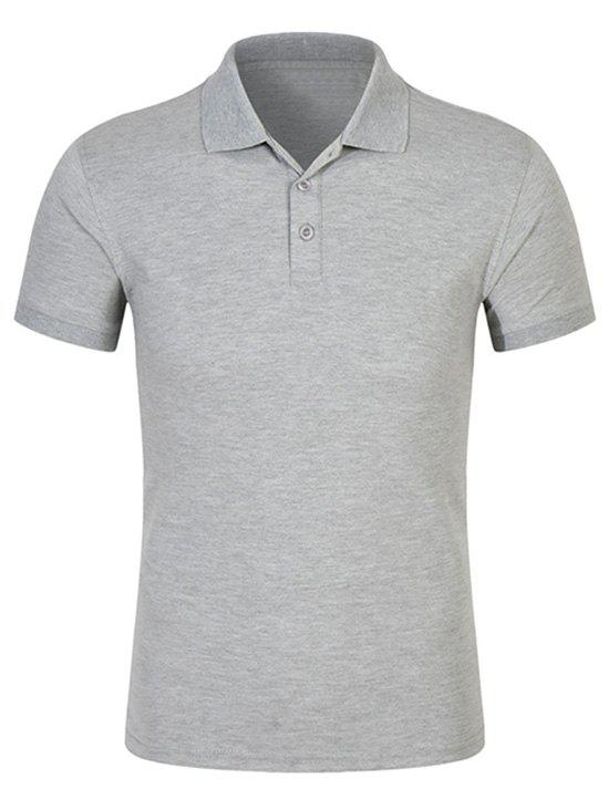 Half Buttoned Plain Polo Shirt men plain polo shirt