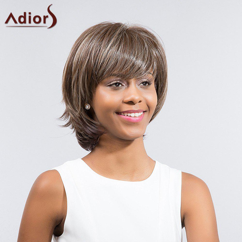 Adiors Tail Upwards Short Layered Side Bang Synthetic Wig велосипед focus raven 27r 1 0 2014