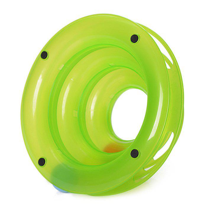 Cat Toy Pet Toy Ball Track - GREEN