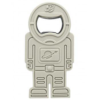 Spaceman Shaped Silicone Bottle Opener