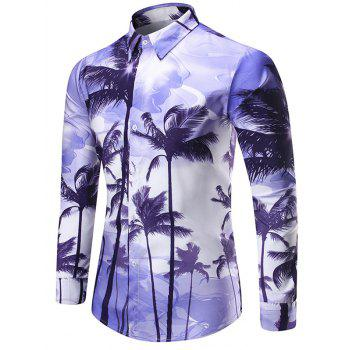 Coconut Tree Printed Shirt