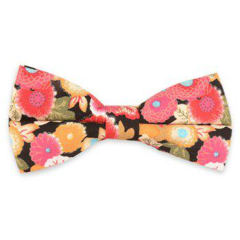 Vintage Blossom Printing Bow Tie