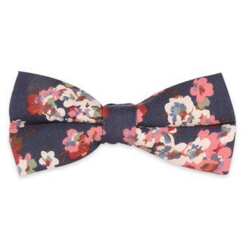 Retro Tiny Bouquet Printed Bow Tie