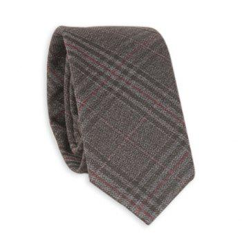 Tiny Plaid Formal Neck Tie