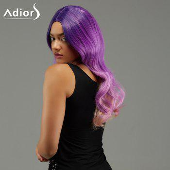 Adiors Long Wavy Gradient Centre Parting Synthetic Wig
