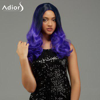Adiors Long Wavy Centre Parting Gradient Capless Synthetic Wig