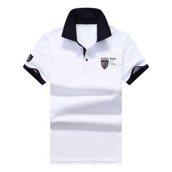 Polo Shirt with Applique