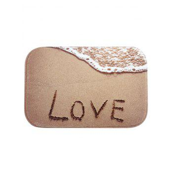 Love Sandbeach Printed Floor Mat