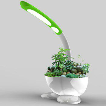LED Desk Lamp with Flower Pot