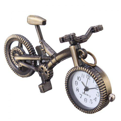 Bike Shape Vintage Pendant Watch - COPPER COLOR
