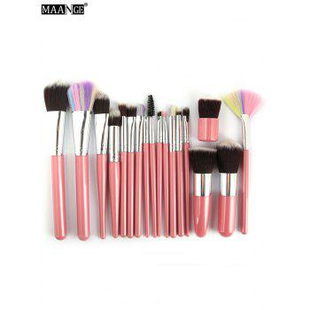 MAANGE 18 Pcs Multipurpose Makeup Brushes Set
