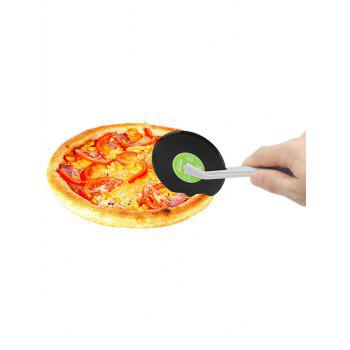 Record Shaped Vinyl Pizza Wheel Cutter
