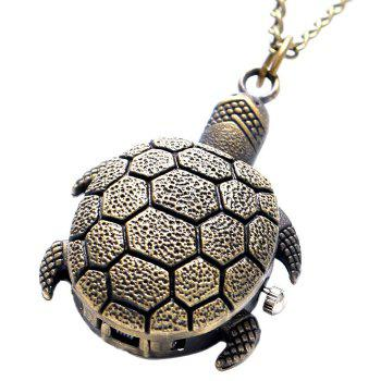 Tortoise Shape Vintage Pocket Watch