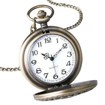 Hollow Out Vintage Pocket Watch - COPPER COLOR