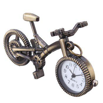 Bike Shape Vintage Pendant Watch