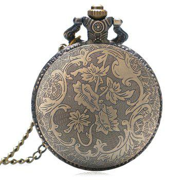 Tour Eiffel Vintage Pocket Watch - Couleur de cuivre