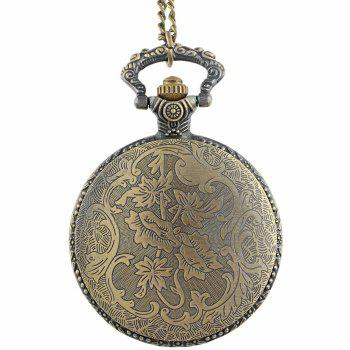 Royal Flush Vintage Pocket Watch -  COPPER COLOR