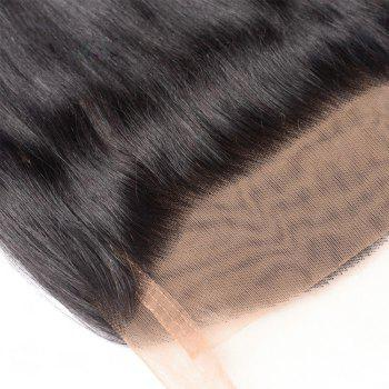 Long Natural Straight Middle Part Dyeable Lace Front Human Hair 360 Lace Wig with Baby Hair - NATURAL COLOR NATURAL COLOR