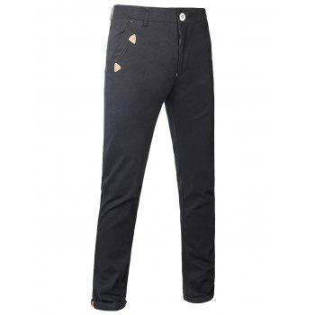 Zipper Fly Chino Pants