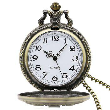 DAD Carving Vintage Pocket Watch - Cuivre
