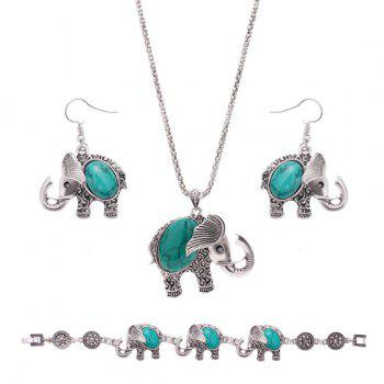 Vintage Rammel Elephant Jewelry Set