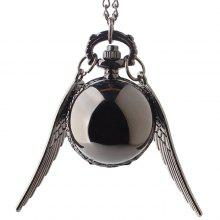 Ball Pocket Watch with Wings