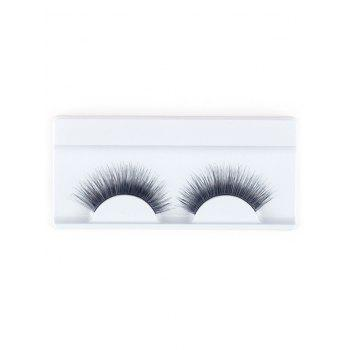 Lengthening False Eyelashes with Glue -  BLACK
