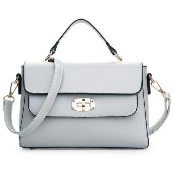 Cross Body Metal Detail Handbag