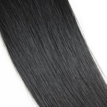3 Pcs Straight Dyeable Brazilian Virgin Human Hair Weave - NATURAL COLOR NATURAL COLOR