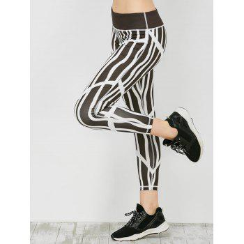 Sporty Stripe Running Leggings