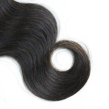 3 Pcs Body Wave Brazilian Virgin Dyeable Human Hair Weave - NATURAL COLOR 20INCH*22INCH*24INCH