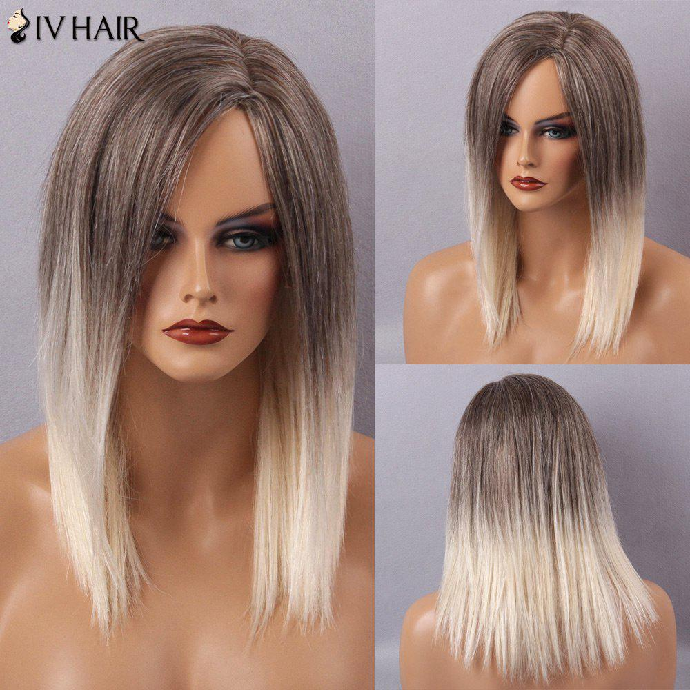 Siv Hair Long Straight Side Parting Capless Human Hair Wig siv hair side parting long straight full lace 100 percent human hair wig