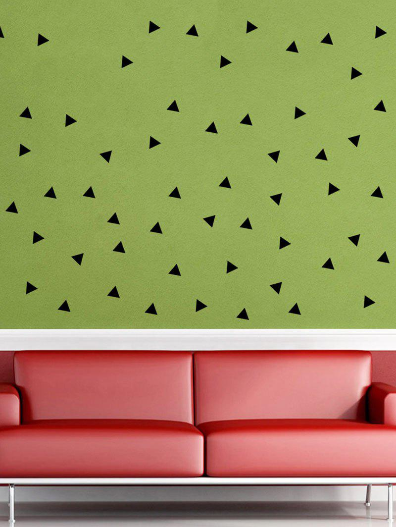 DIY Geometric Triangle Pattern Wall Sticker geometric pattern door sticker