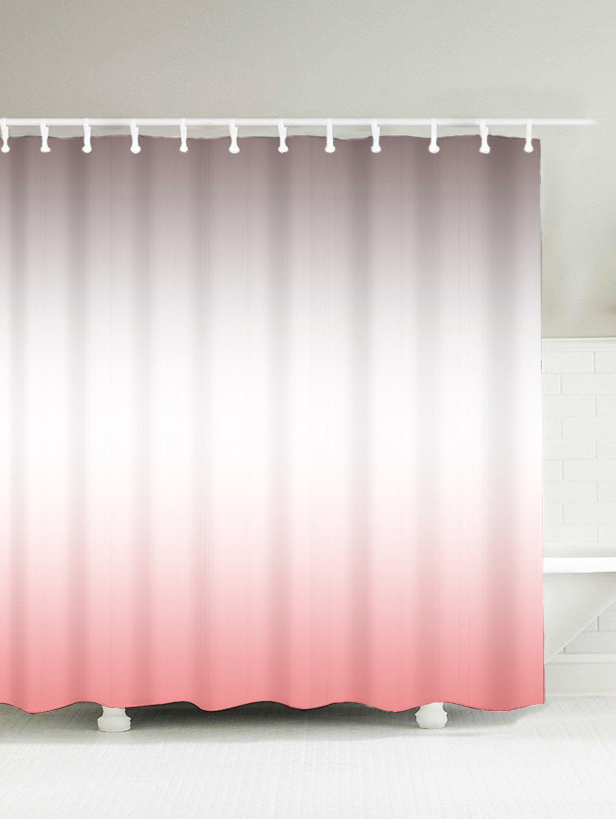 Brief Polyester Water Resistant Ombre Shower Curtain flower butterfly mantis water resistant shower curtain