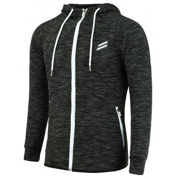 Zip Up Funnel Neck Hoodie