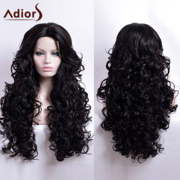 Adiors Long Curly Centre Parting Capless Synthetic Wig