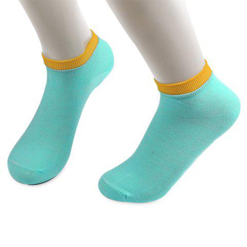 Knitting Breathable Ankle Socks - CLOUDY