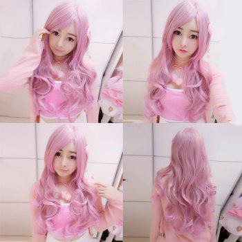 Harajuku Long Wavy Sided Bang Cosplay Lolita Synthetic Wig
