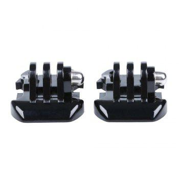 2PCS Buckle Basic Mount -  BLACK