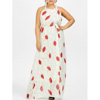 Chiffon Maxi Plus Size Dress