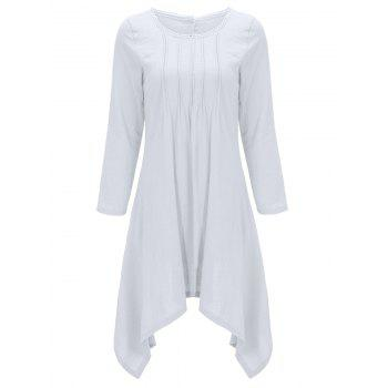 Asymmetrical Tunic Casual Long Sleeve Dress