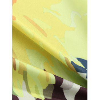 Throw Round Floral Plage - multicolorcolore ONE SIZE