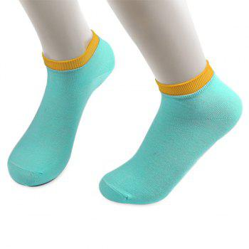 Knitting Breathable Ankle Socks - CLOUDY CLOUDY