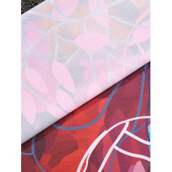 Forme ronde florale Plage Throw - multicolore ONE SIZE