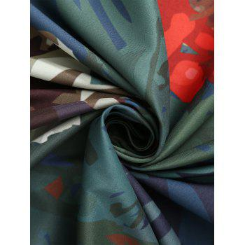 Throw Tassel Floral Cercle Plage - multicolorcolore ONE SIZE