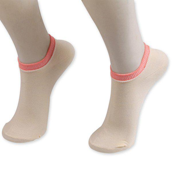 Knitting Breathable Ankle Socks - PALOMINO