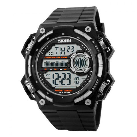 SKMEI Outdoor Luminous Digital Watch - SILVER